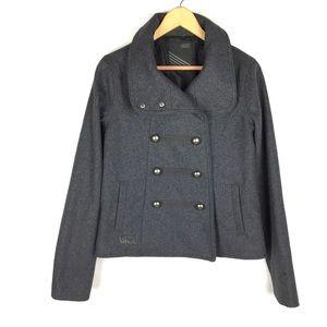Vans wool Blend sweater pea coat jacket